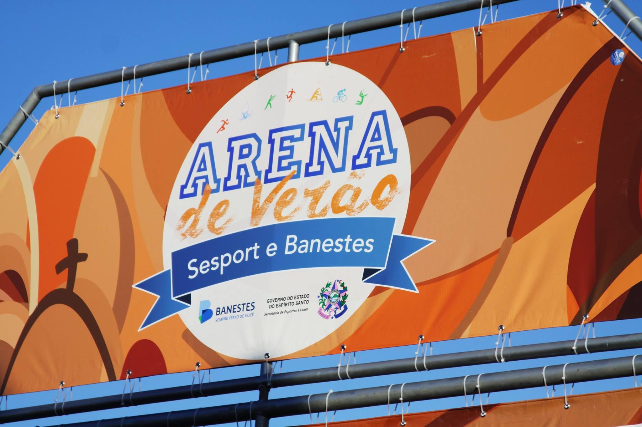 c52d38bdd Governo ES - Arena de Verão Sesport e Banestes recebe competições de luta  de praia