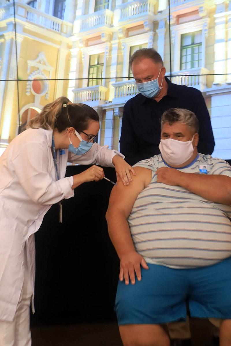 Espírito Santo dá continuidade à vacinação de novo grupo prioritário contra a Covid-19