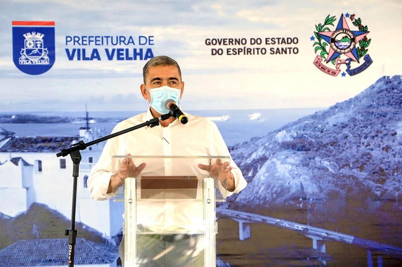 Governador anuncia quase R$ 150 milhões em novas obras de infraestrutura em Vila Velha