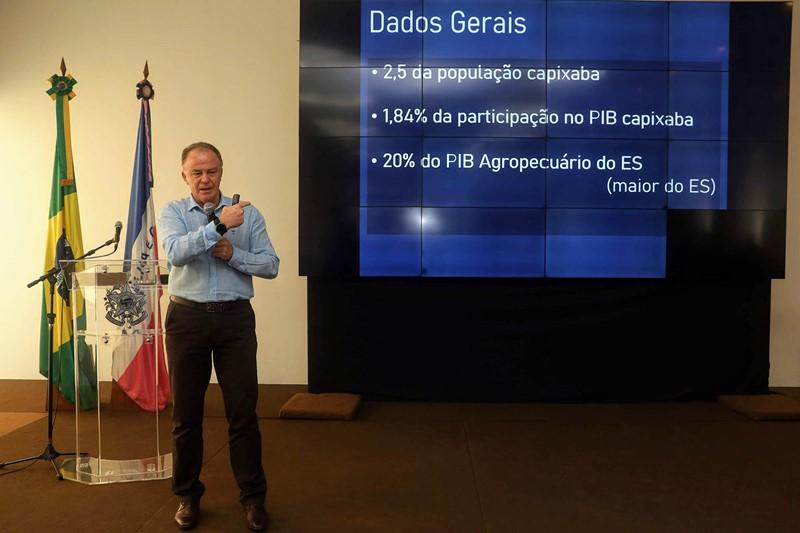 Governador apresenta Plano de Investimentos 2020/2021 a vereadores da região Central Serrana