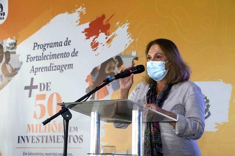 Governo anuncia pacote deinvestimentosde R$ 50 milhões para escolas da Rede Estadual