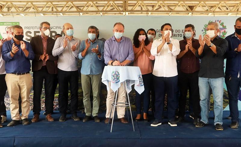 Governo do Estado investe na ampliação e melhoria do saneamento na Serra
