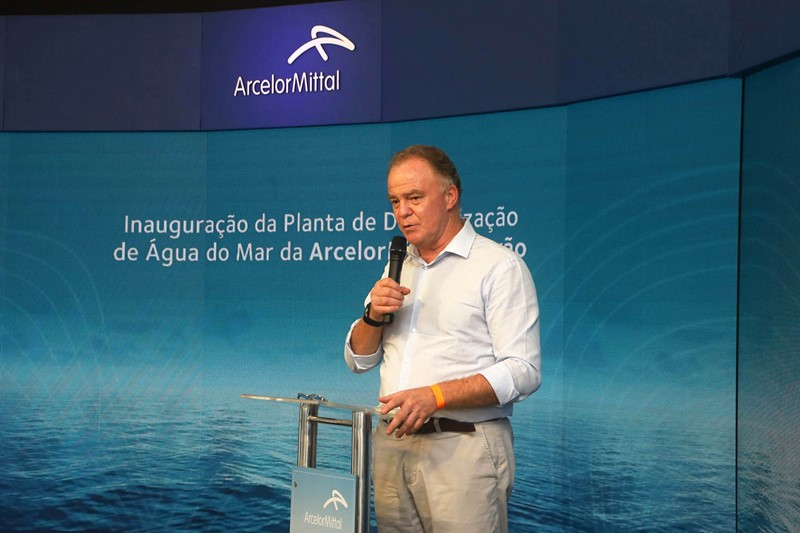 Governador participa da inauguração da maior planta de dessalinização de água do mar do País