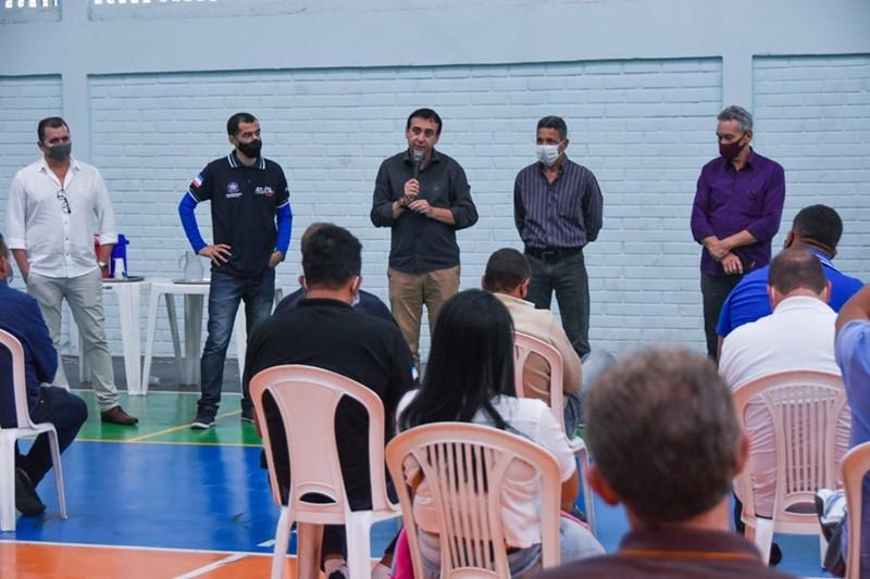 Sesport apresenta aplicativo para cadastro de alunos do Campeões de Futuro