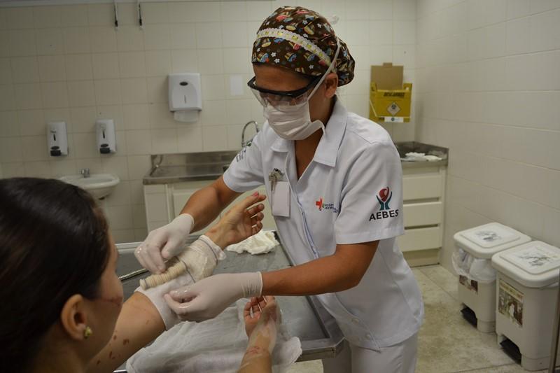 Centro de Tratamento de Queimados tem mais de 50 mil atendimentos em oito anos de funcionamento