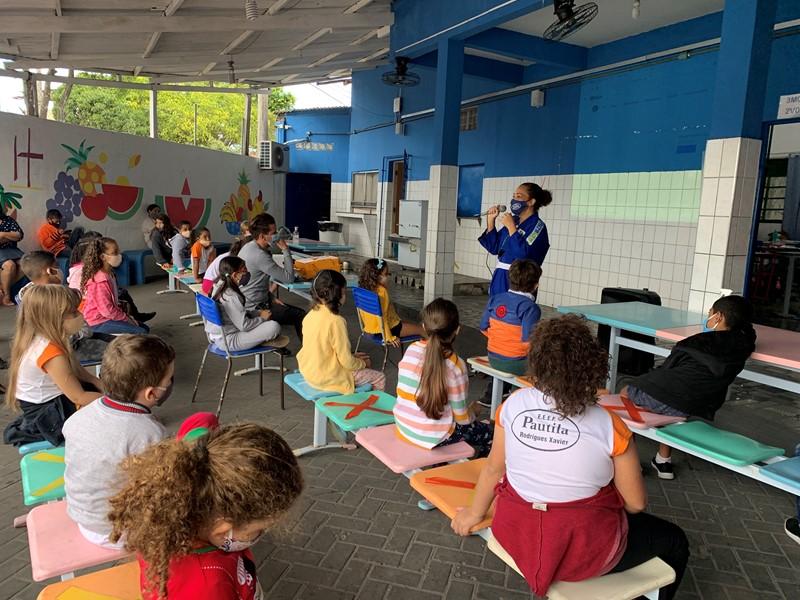 Olimpíada de Tóquio é tema de projeto integrador em Escola de Cariacica