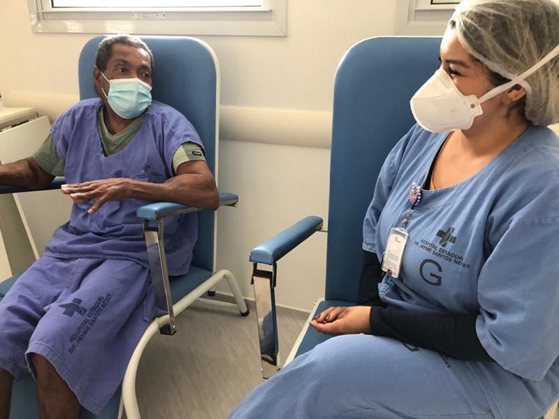 Profissionais do Jayme ajudam paciente a encontrar filha após seis anos sem contato