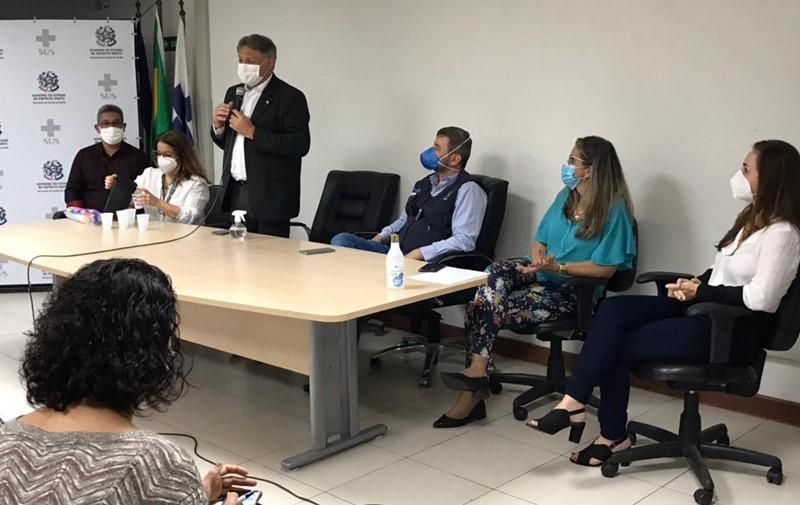 Sesa apresenta projeto de fortalecimento da regionalização em saúde