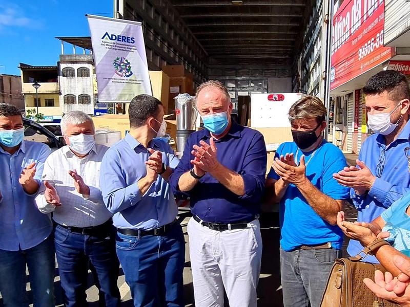 Governo do Estado entrega obras de infraestrutura e autoriza novos investimentos no aniversário de 159 anos de Viana