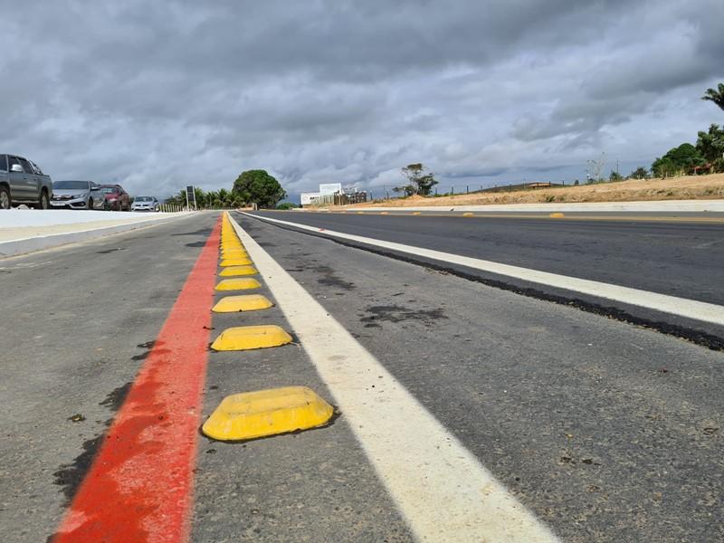 Governo do Estado entrega obras de reabilitação da Rodovia ES-130 em Pinheiros