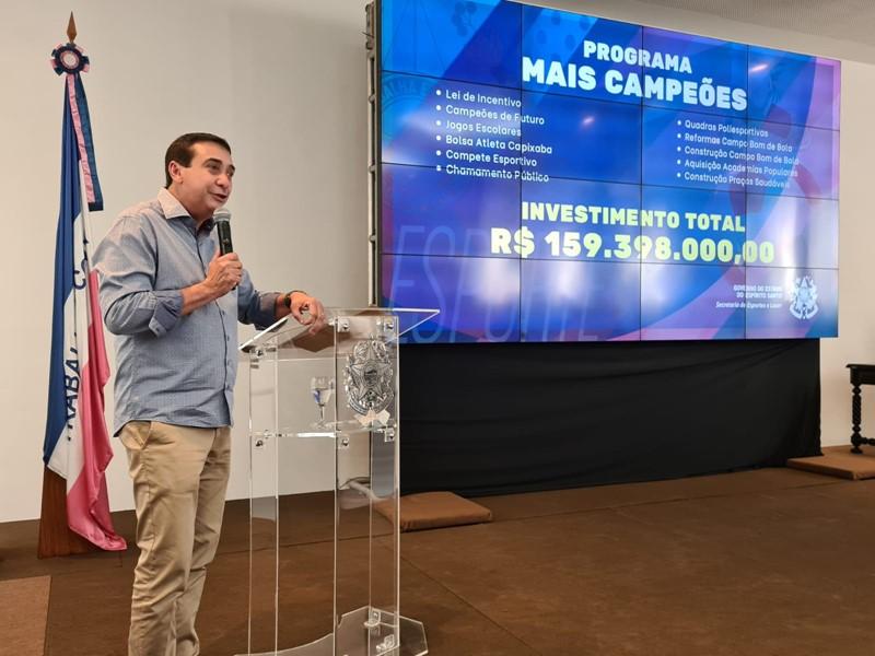 Mais Campeões: Estado anuncia pacote com investimentos em programas e ações para o Esporte