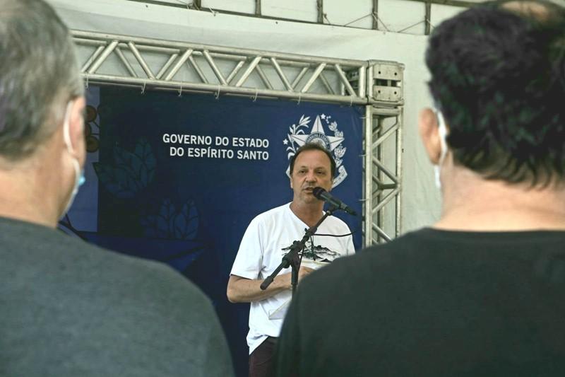 Governo do Estado autoriza início das obras de pavimentação da ES-383, em Alfredo Chaves