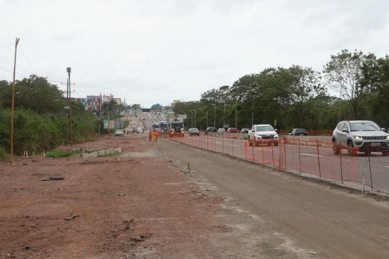 Vitória 470 anos: governadordo Estadovisita obras de mobilidade na Capital