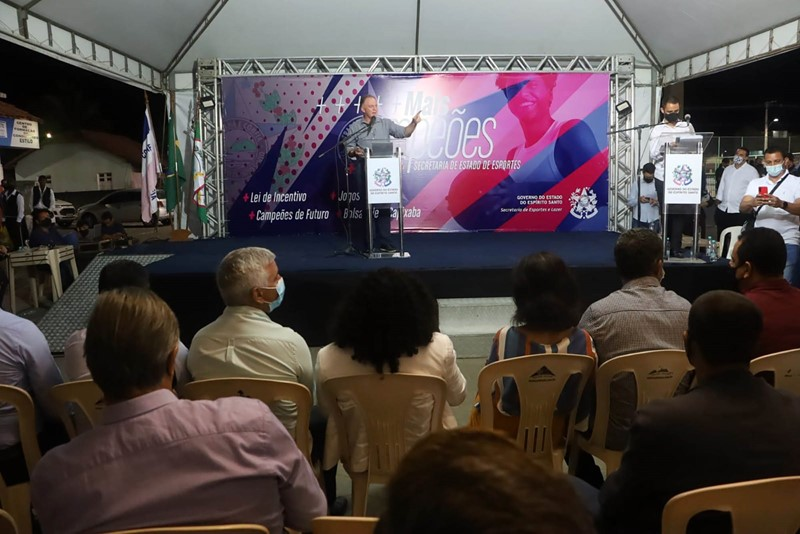 Governador inaugura espaço multiesportivo e anuncia novos investimentos em Jaguaré