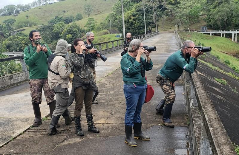 Rebio Duas Bocas tem 115 espécies de aves registradas durante evento mundial de observação