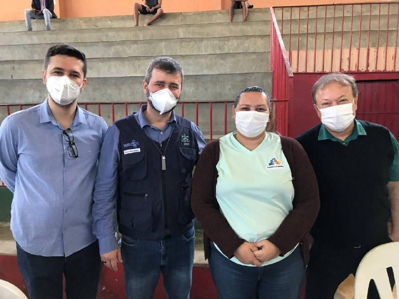 Mais de duas mil doses aplicadas em mutirão de vacinação contra a Covid-19 na Região Central de Saúde