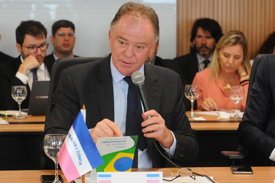 Fórum de Governadores discute Fundeb e Fundo Nacional de Segurança em Brasília-DF