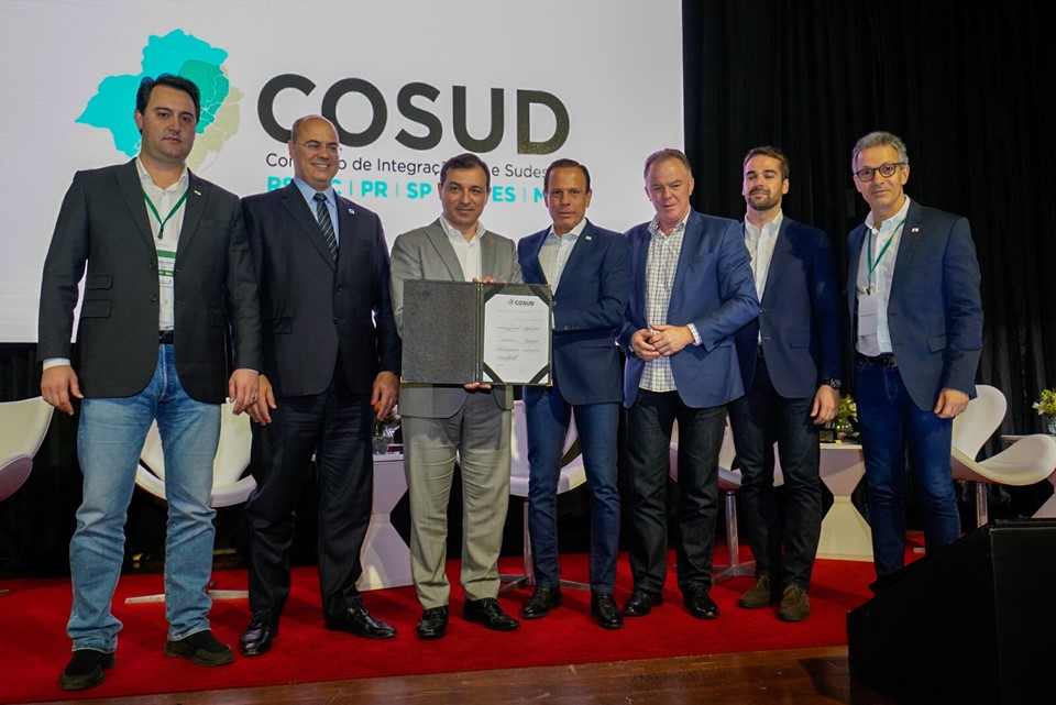 Casagrande fala de conciliação nacional durante novo encontro do Cosud em Santa Catarina