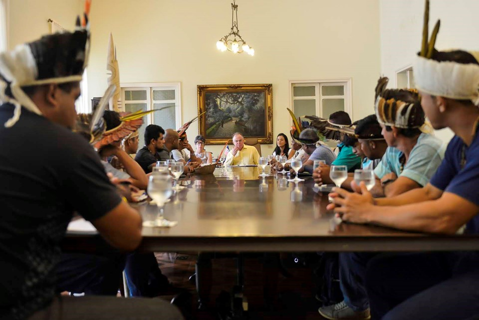 Tribos capixabas se reúnem com governador nesta quinta-feira (18)