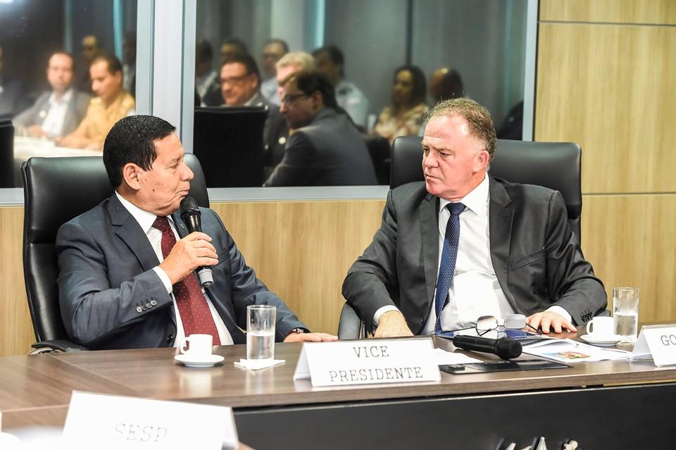 Vice-presidente Mourão se reúne com governador Casagrande em Vitória nesta quinta-feira