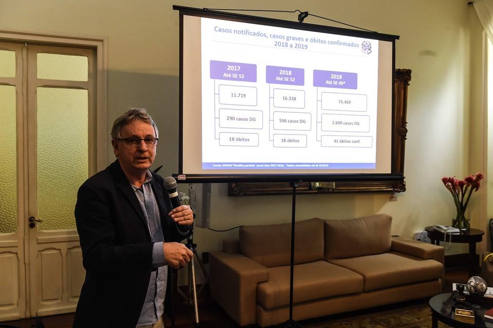 Reunião com prefeitos discute enfrentamento das doenças transmitidas pelo Aedes aegypti 3