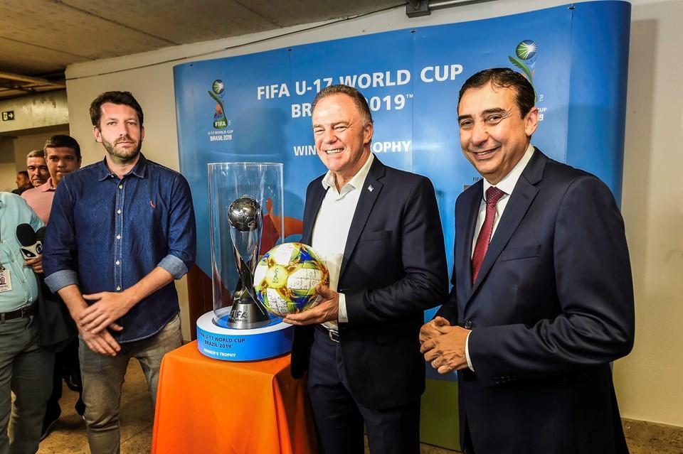 Estádio Kleber Andrade receberá placar eletrônico para jogos da Copa do Mundo Sub-17 da Fifa