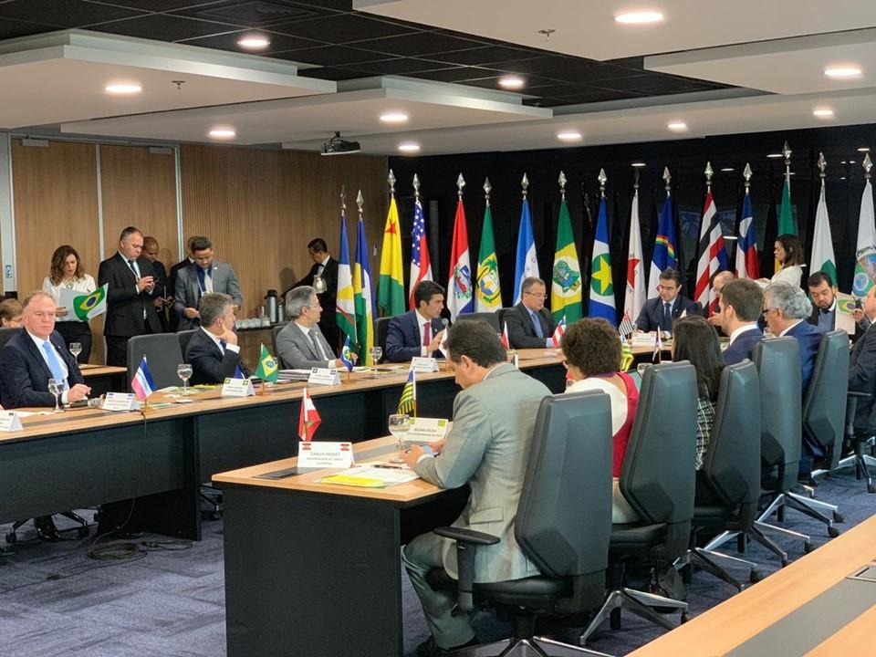 Renato Casagrande participa de nova reunião do Fórum dos Governadores