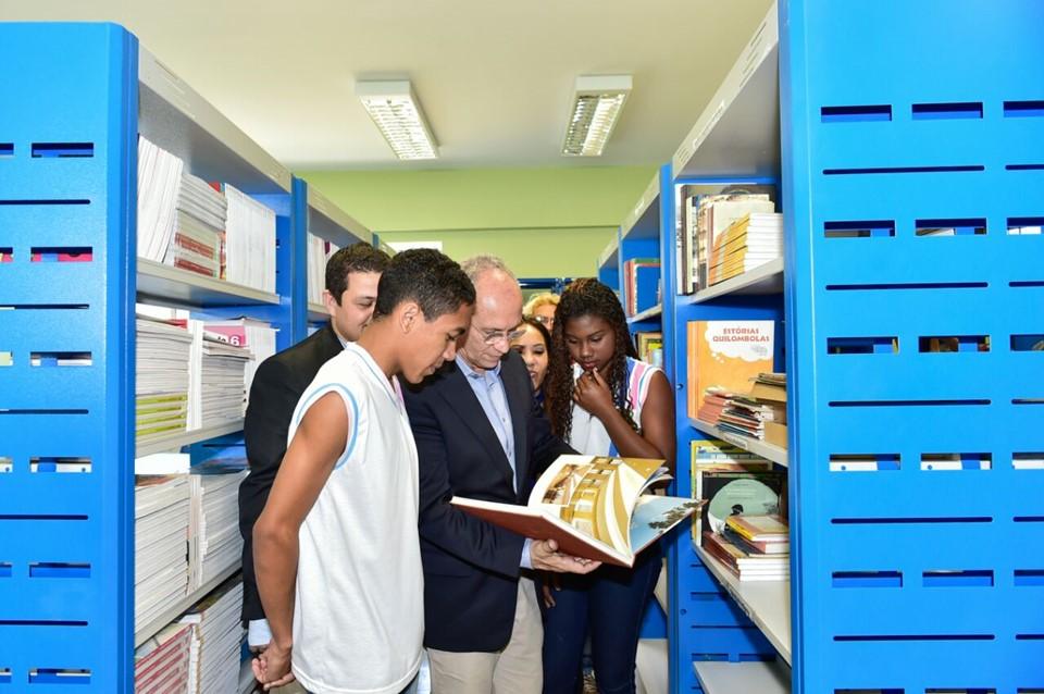 Escola Estadual Graúna é inaugurada e município de Itapemirim adere ao Pacto pela Aprendizagem