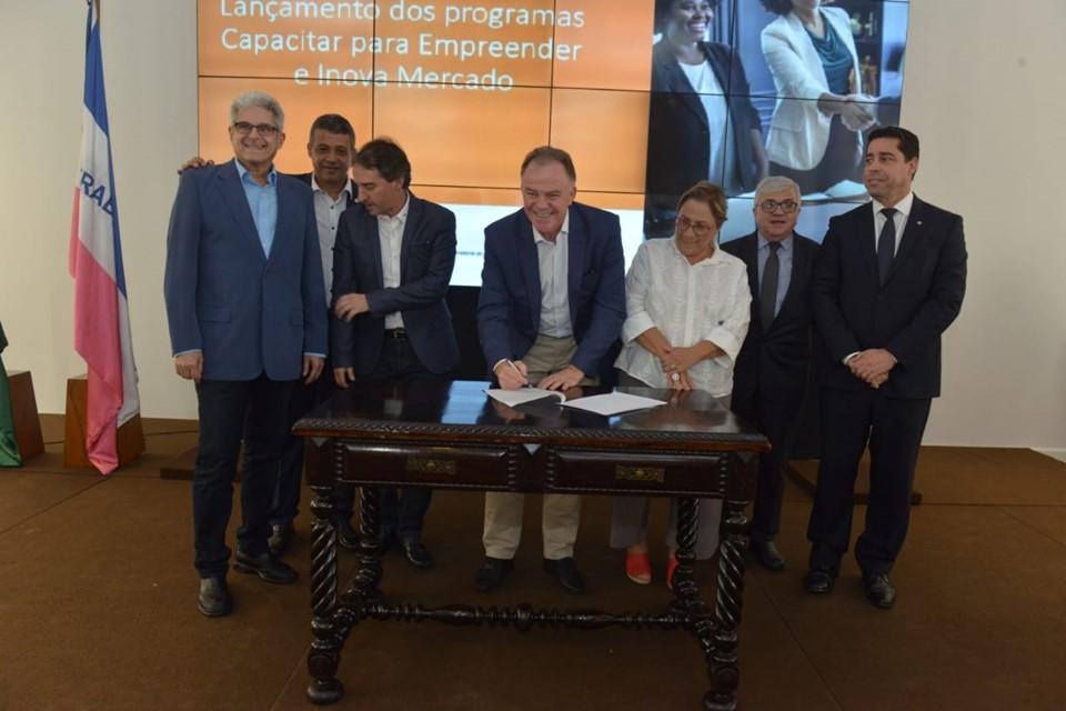Estado lança programas de apoio e capacitação para mais de 16 mil empreendedores