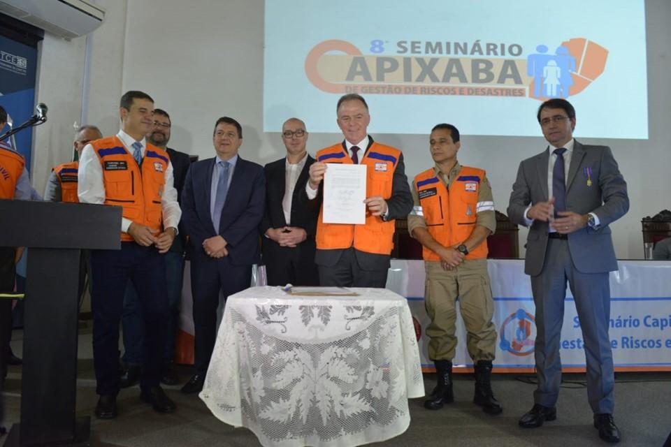 Construção de centro de gerenciamento de desastres e implantação do sistema Alerta! é anunciado pelo Governo do Estado