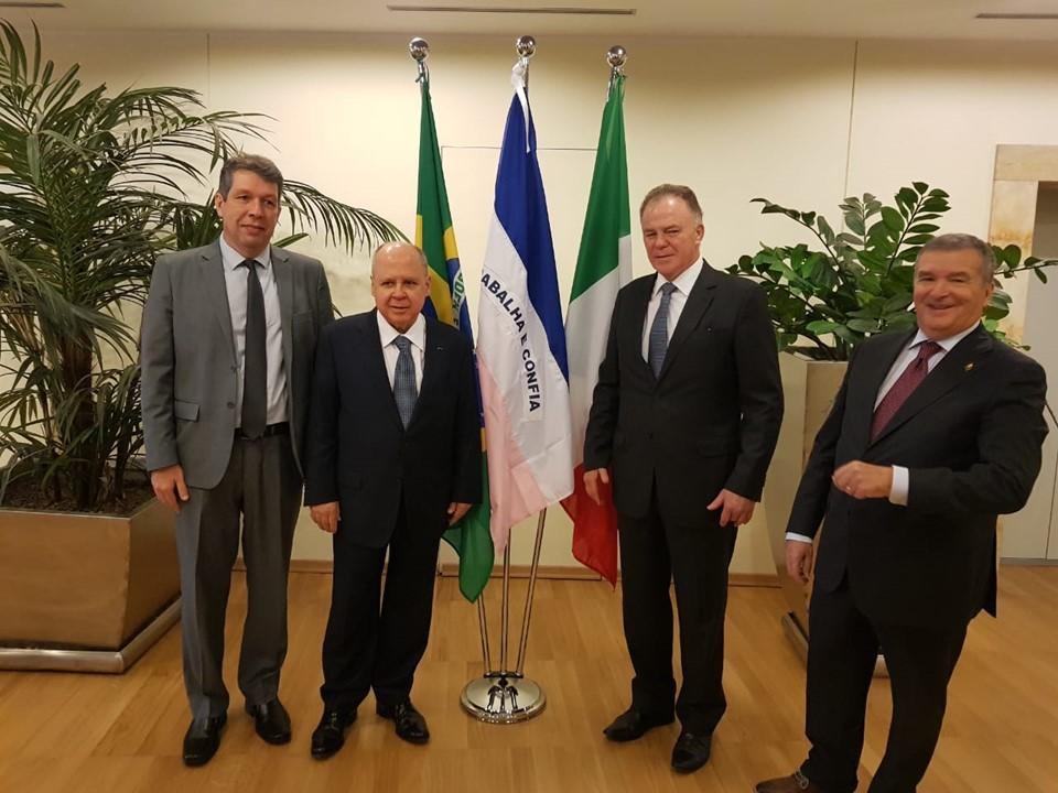 Governo do Espírito Santo e Câmara de Comércio Ítalo-Brasileira firmam acordo de colaboração