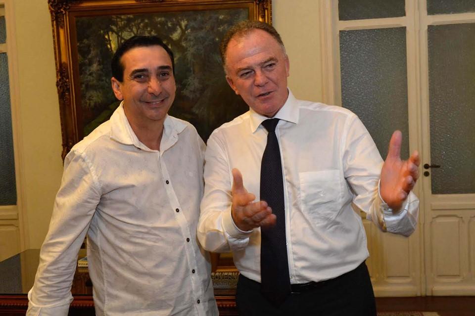 Júnior Abreu é anunciado como novo secretário de Estado de Esportes