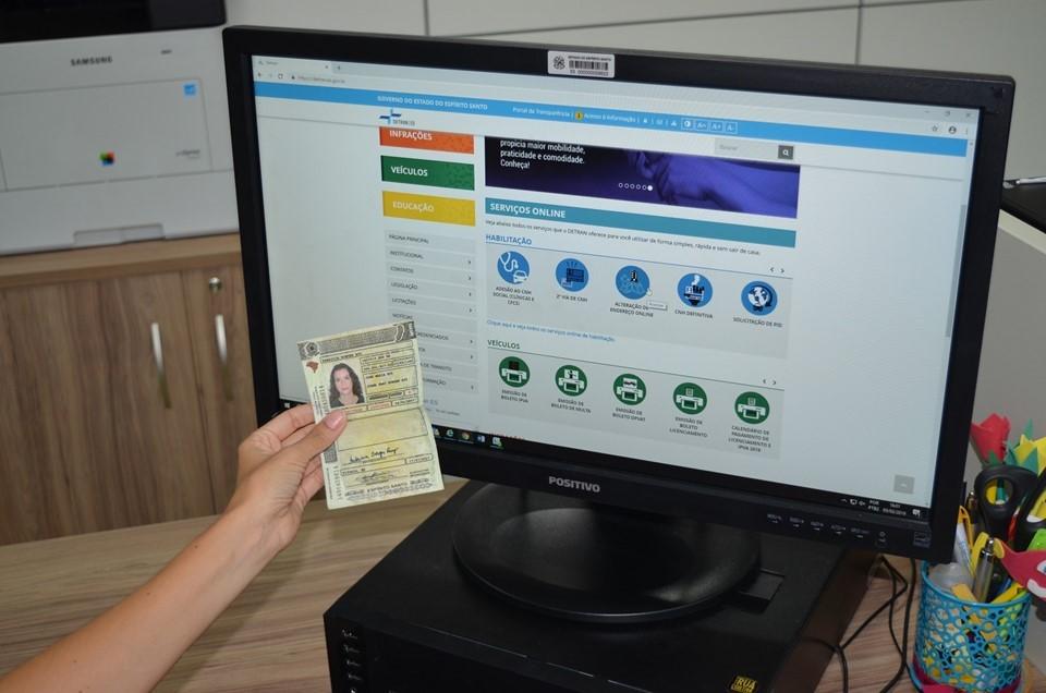 Condutores do ES podem solicitar mudança de endereço da CNH pela Internet